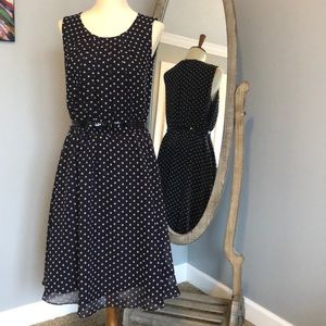 Elle Fit & Flare Dress NWT